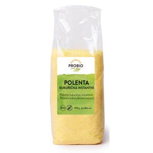 PRO-BIO obchod.spol. s r.o. Polenta kukuřičná instantní 450 g BIO PROBIO
