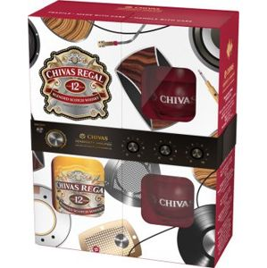 Chivas Regal 12 YO 40% 0,7l + 2x sklo