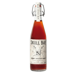 Skull Bay Dark Spiced Rum 37,5% 0,5l